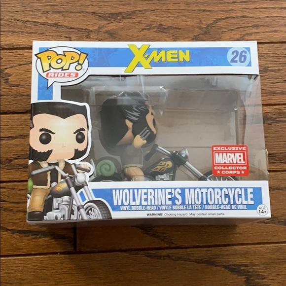Funko POP! Rides X-men Wolverine's Motorcycle 26